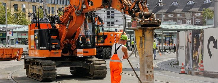 Рабочие на строительство дорог в Польше