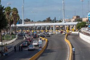 дорога, переезд через границу, пограничный пункт